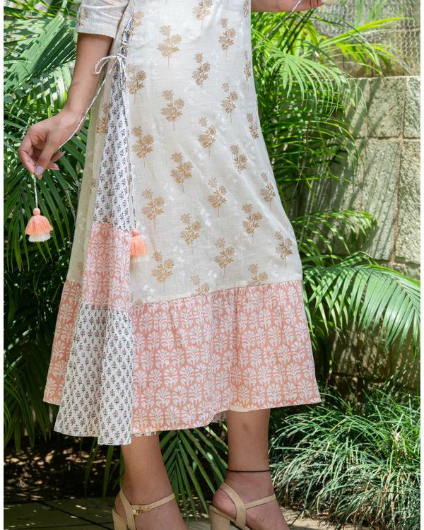 Multiple prints khadi cotton maxi 2