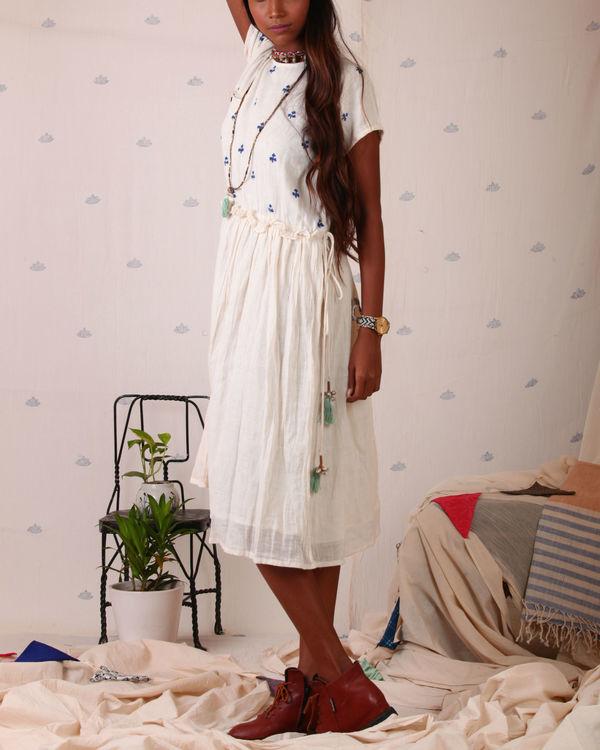 Block printed torso dress 3