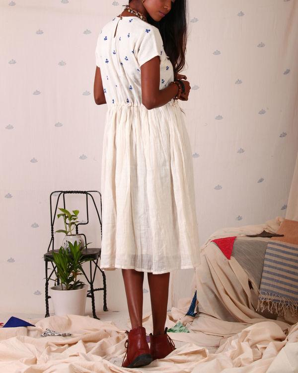 Block printed torso dress 2
