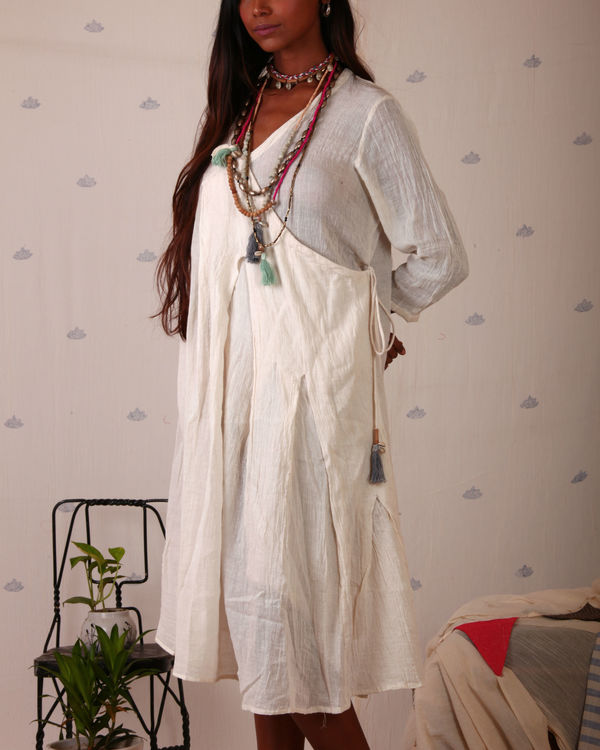 Angrakha pleated tunic 1