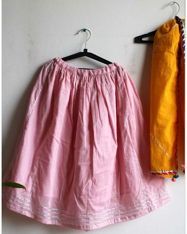 Pink lehenga choli set 2