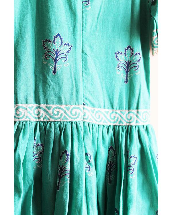 Blue lily dress 1
