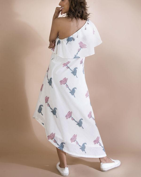 White slip and slide dress 1