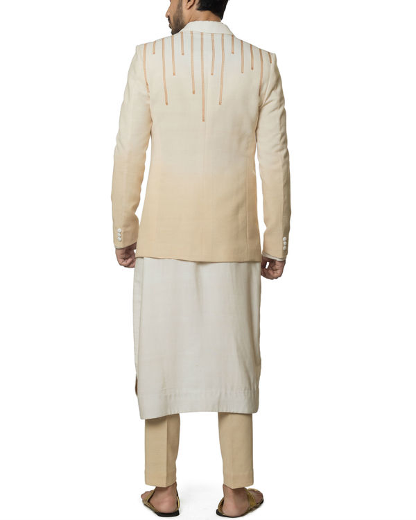 Khadi cotton Shaded kurta set 1