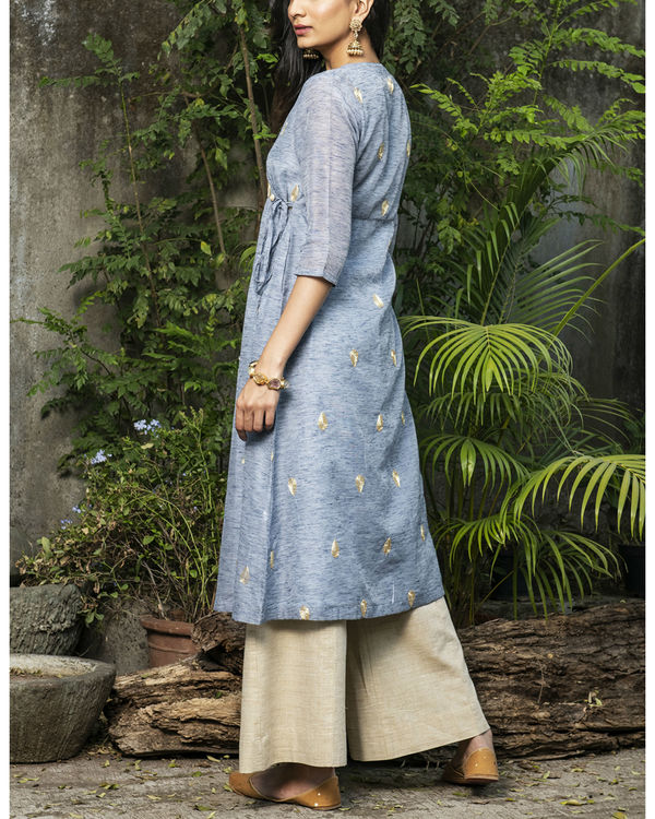 Dew drop wrap kurta 2