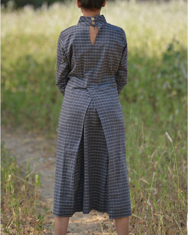 Coal high neck dress 1