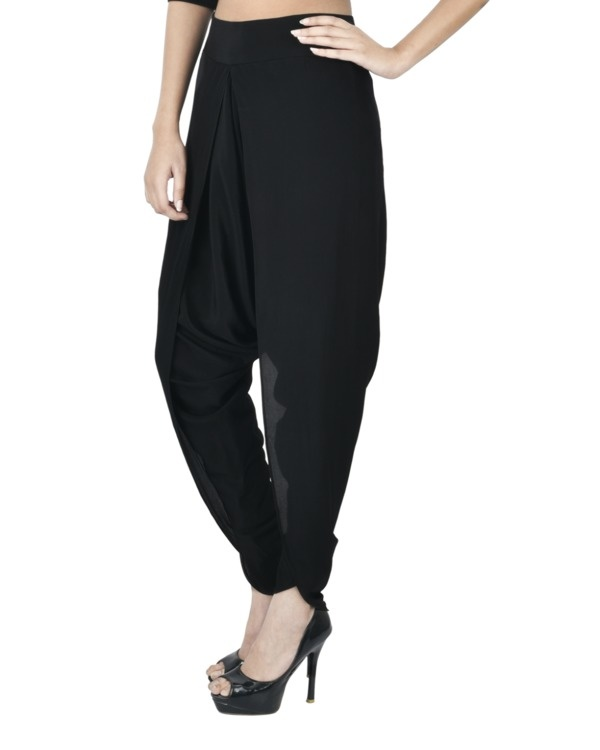 Black dhoti pants 1