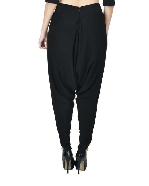 Black dhoti pants 2