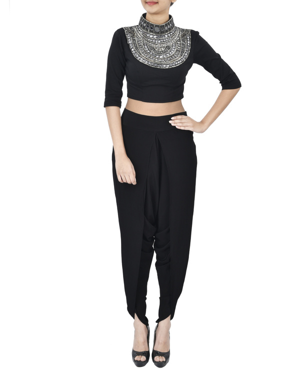 Black dhoti pants 3