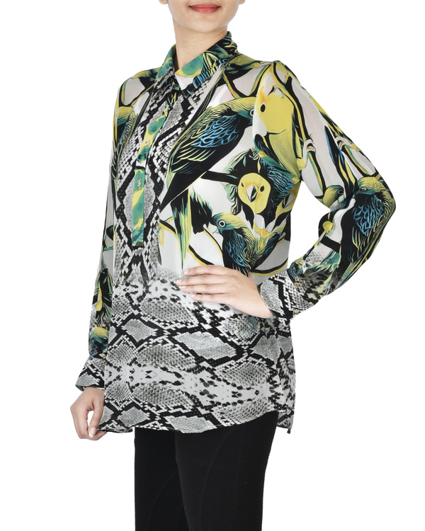 Digitally printed shirt 1