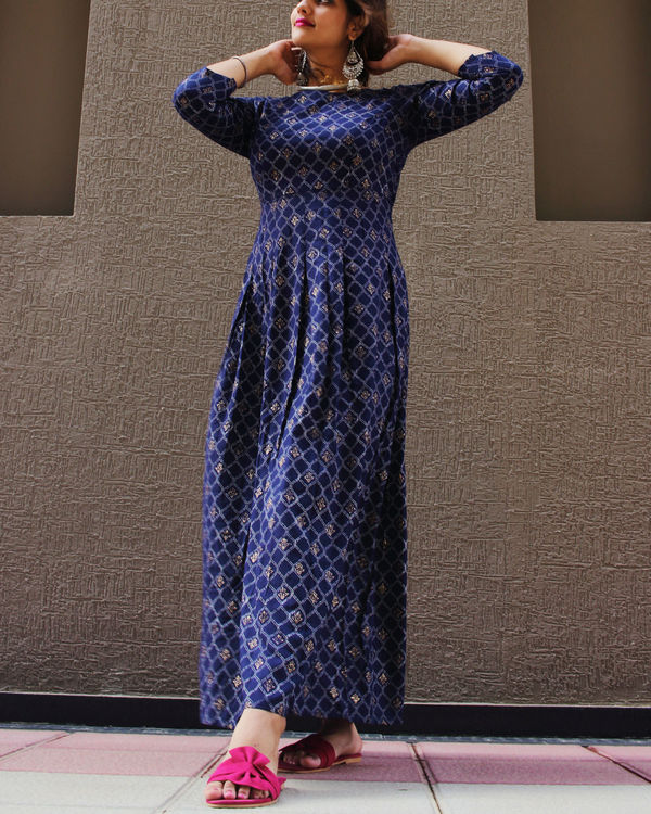 Royal blue dazzle dress 2