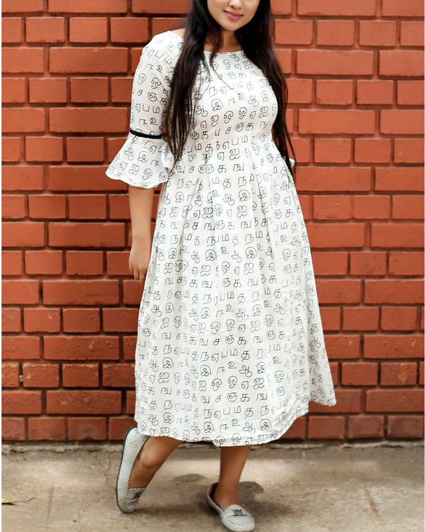 White midi dress 1