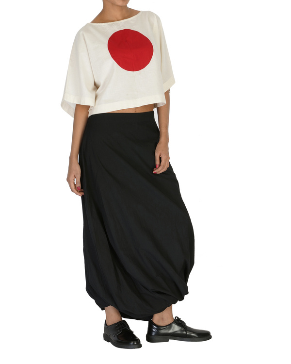 Kimono crop top 2