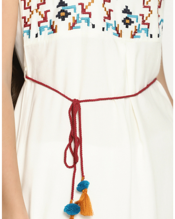 Aztec embroidery dress 2