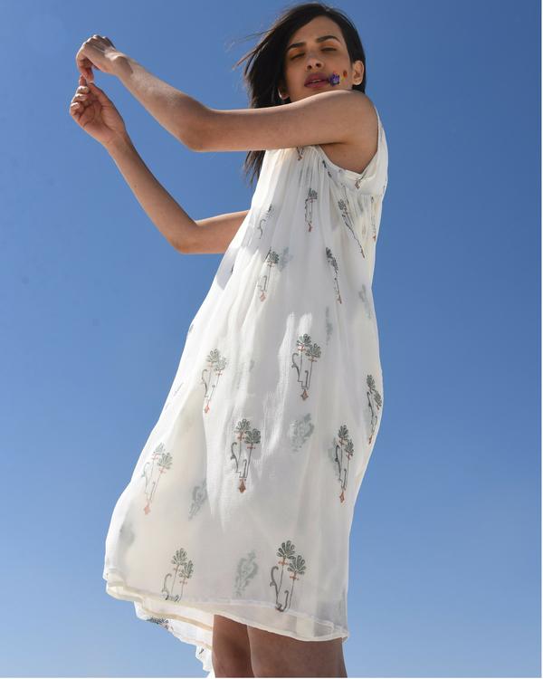 Chiffon overlay dress 1