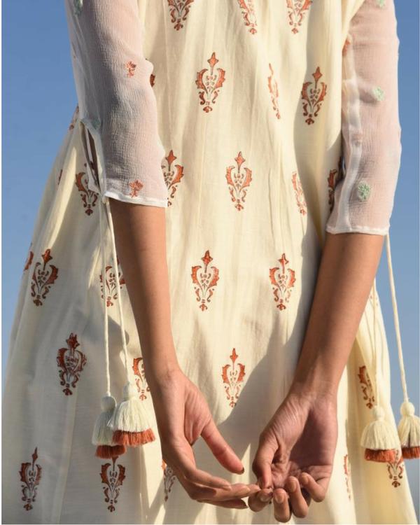Mughal printed tunic maxi 2