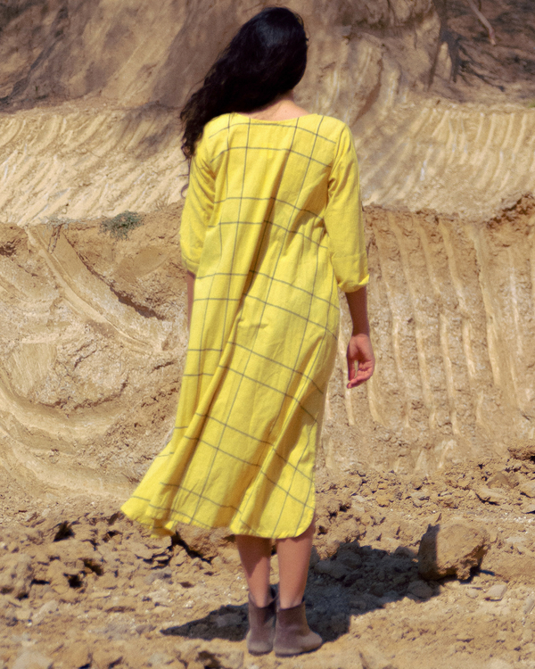 Mustard checks tunic 1
