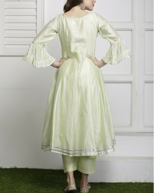 Mint green gota detailed salwar set 2