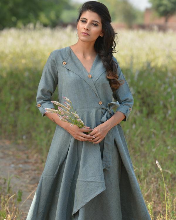 Powder blue shaded dress 1