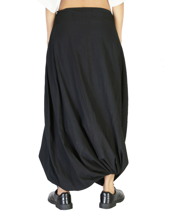 Twisted dhoti skirt 1