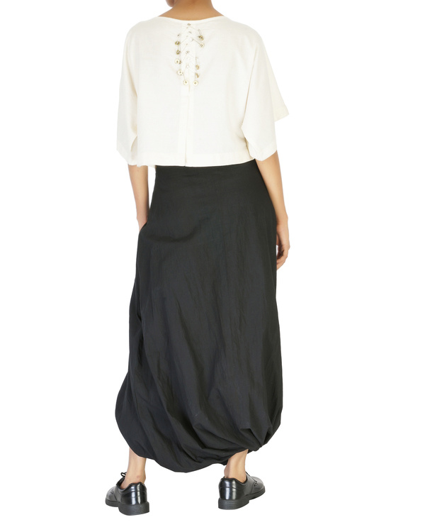 Twisted dhoti skirt 3