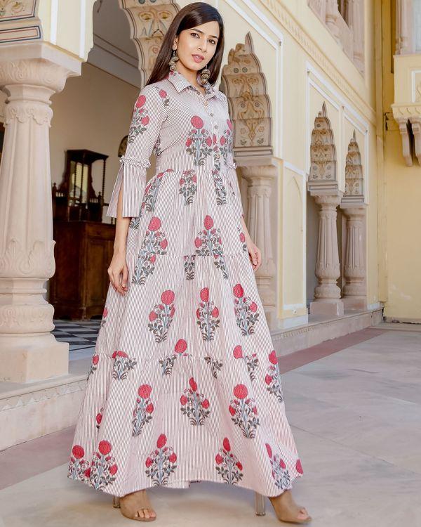 Mughal floral maxi dress 1