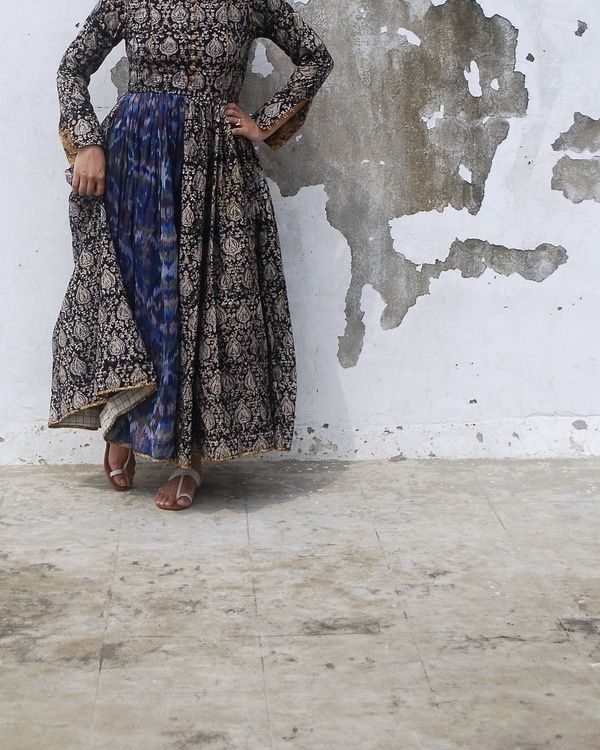Kalamkari noir dress 1