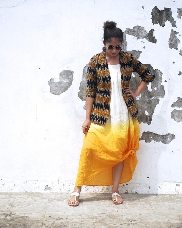Aztec ikat jacket 1