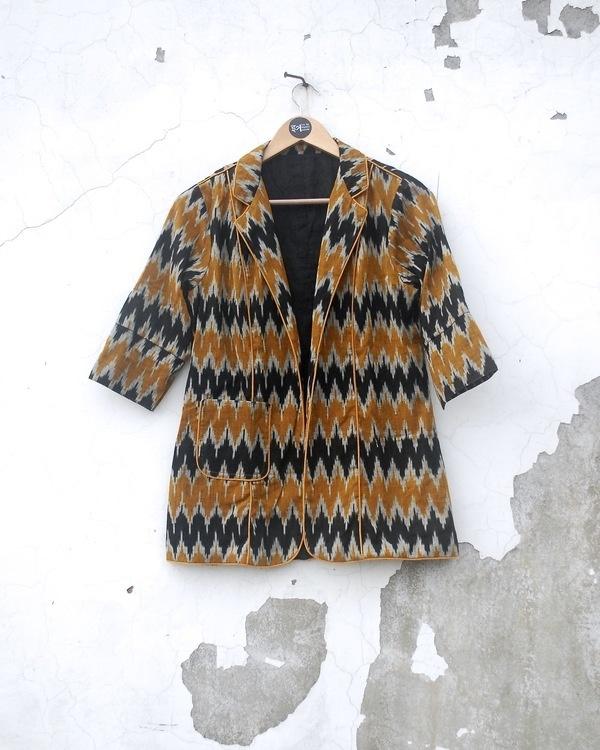 Aztec ikat jacket 2