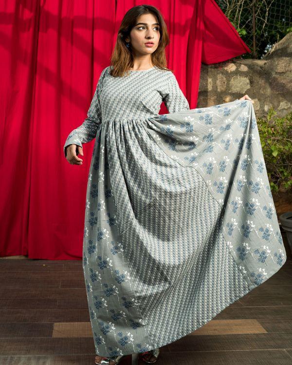 Cotton flux grey dress 4