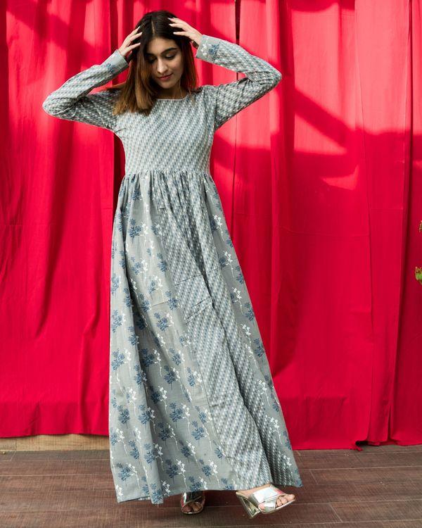 Cotton flux grey dress 3