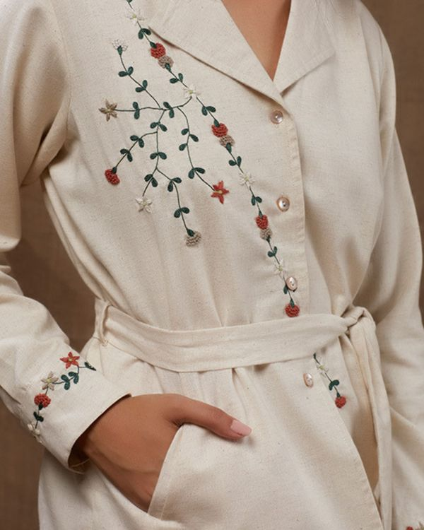 Pearly floral jacket 1