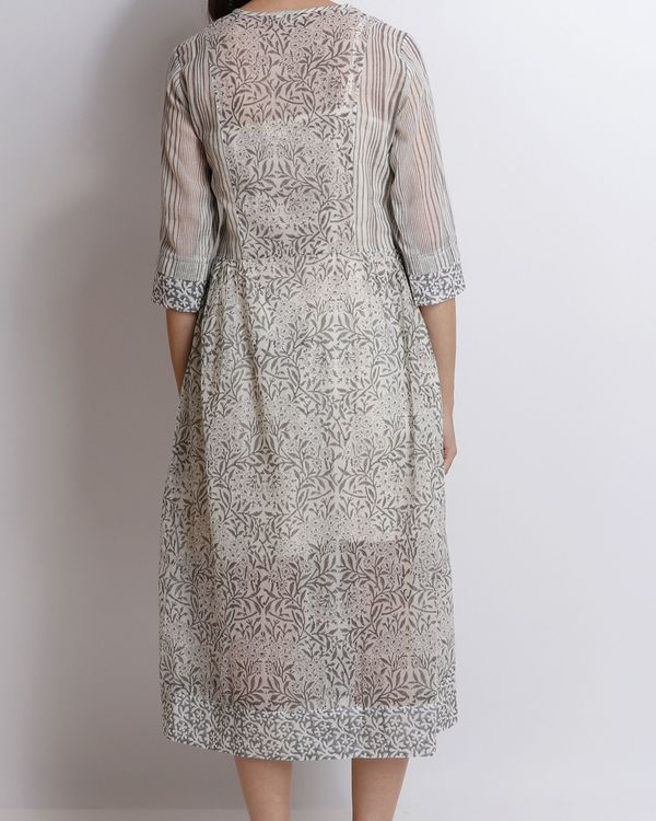 Grey carnation peshi dress 1