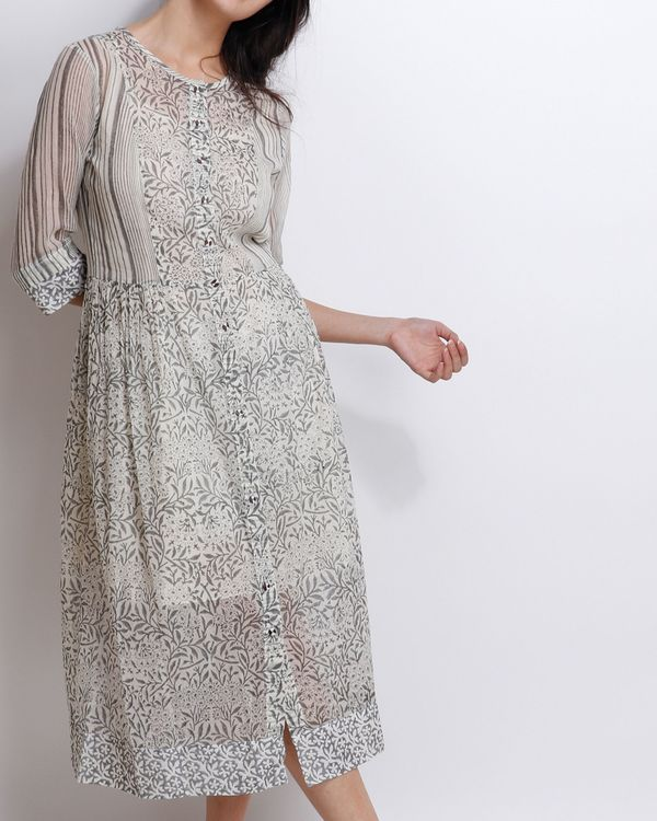 Grey carnation peshi dress 2