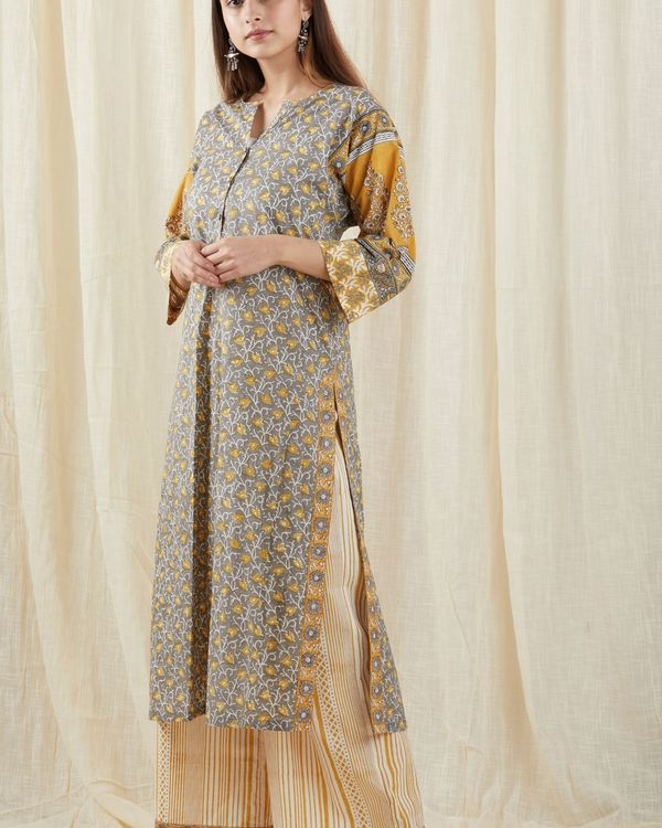 Grey chinar suit set - set of three 3