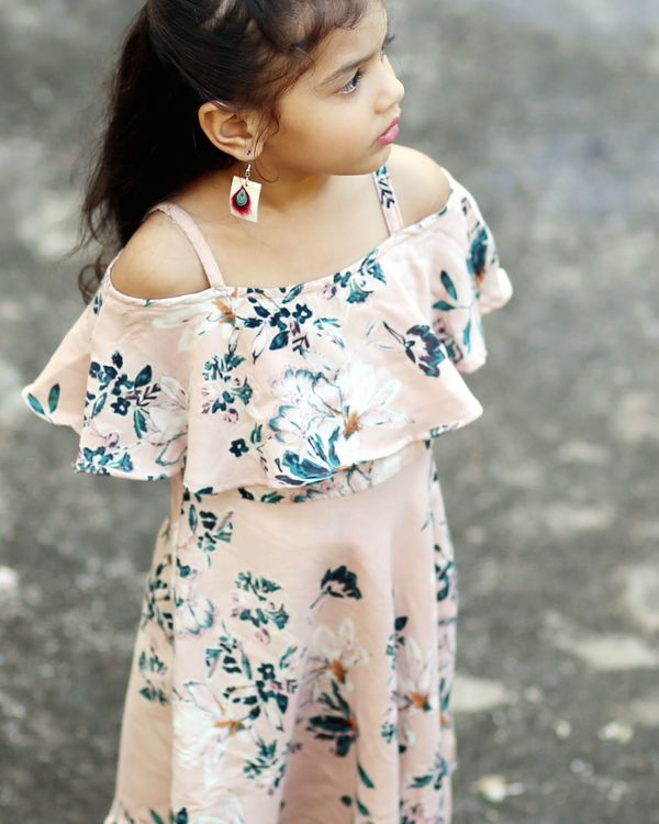 Floral printed dress 1