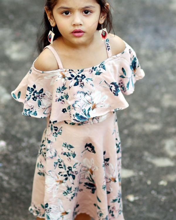 Floral printed dress 2