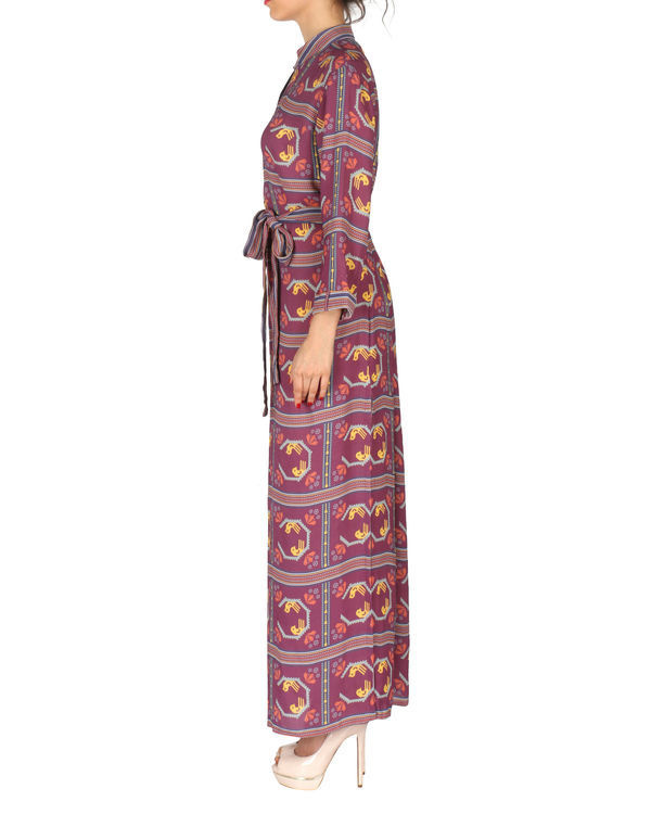Printed long dress 1