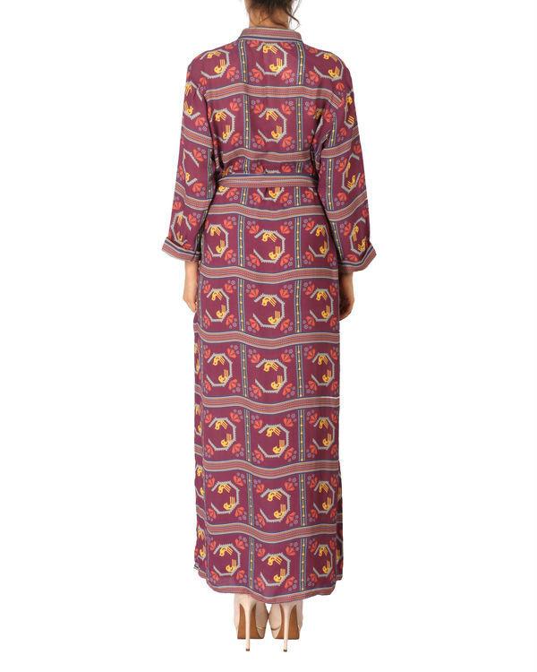 Printed long dress 2