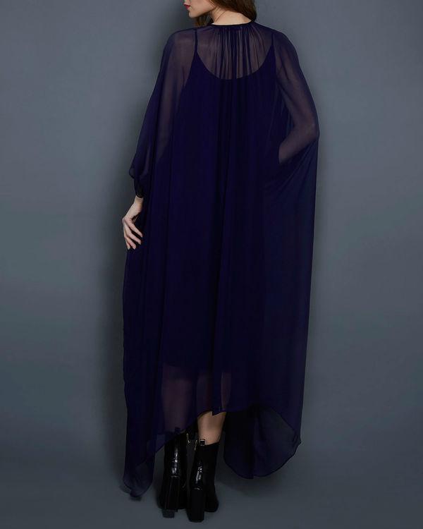Navy blue kaftan dress 2