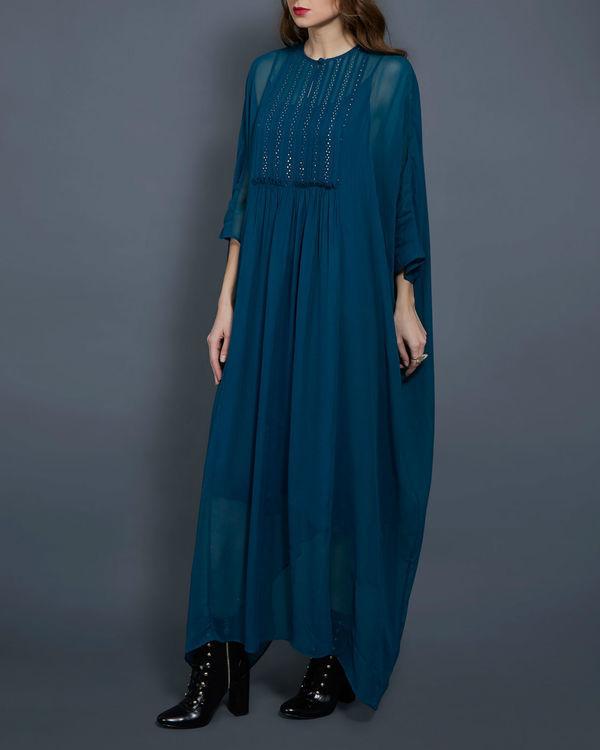 Emerald kaftan dress 1