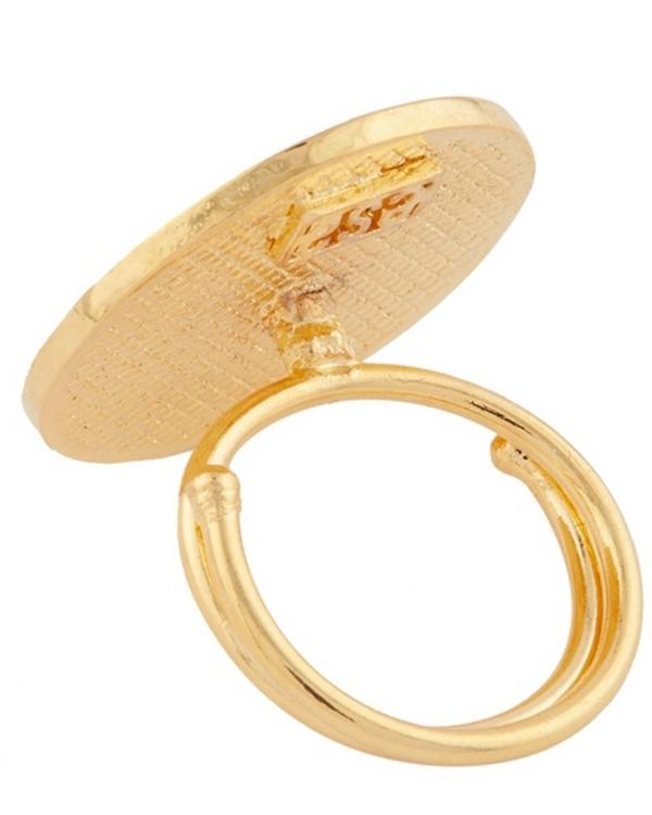 Round zig-zag pattern ring 3