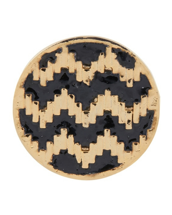 Round zig-zag pattern ring 2