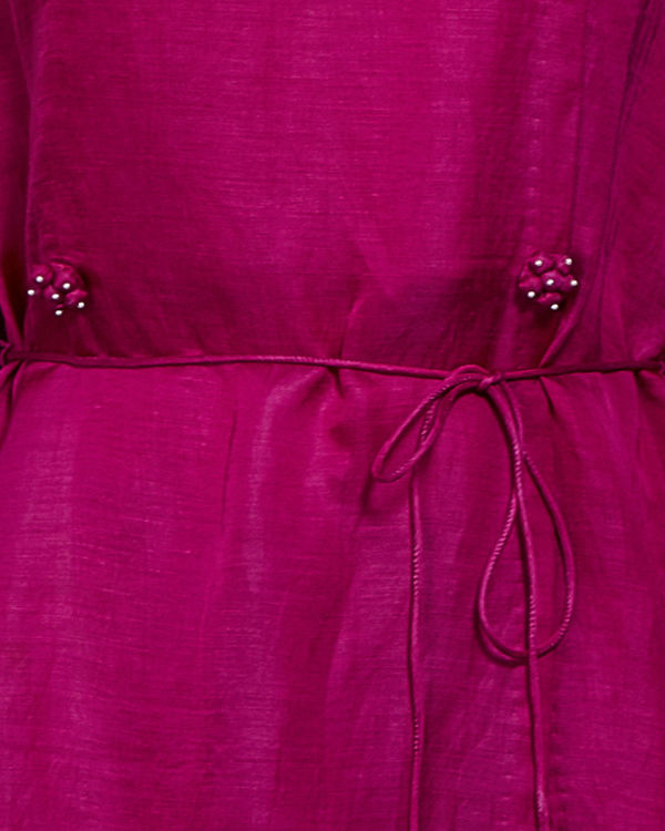 Pink tunic with front slit 3