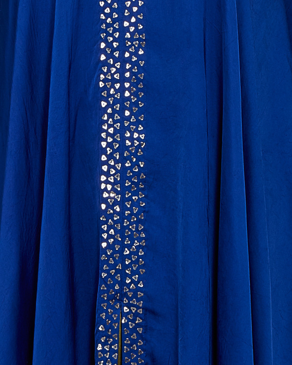 Cobalt blue flared tunic 3