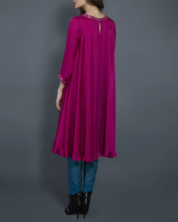 Pink embroidered tunic 2