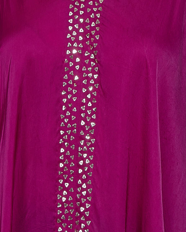 Pink embroidered tunic 3