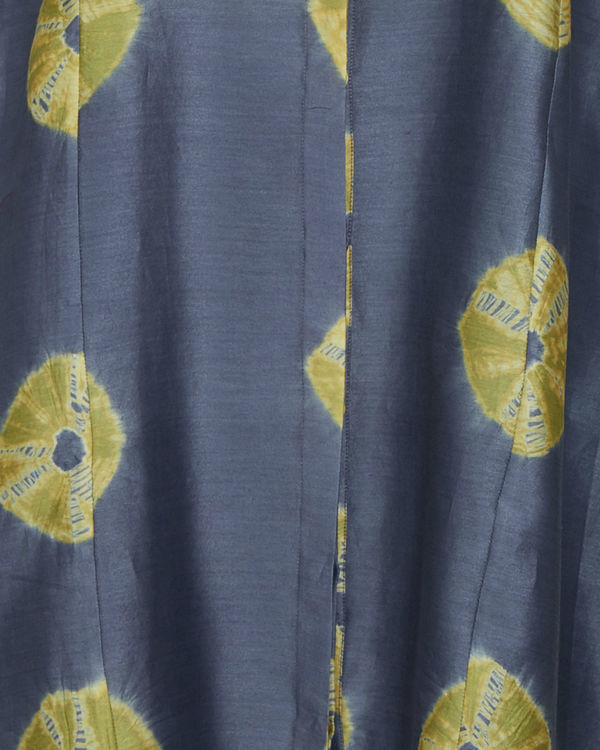 Grey and yellow tie dye tunic 3