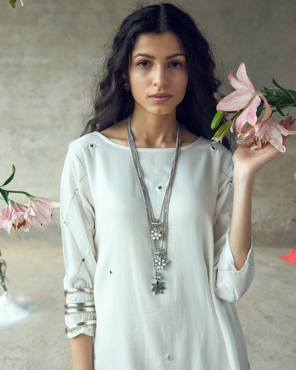 White swing dress 3