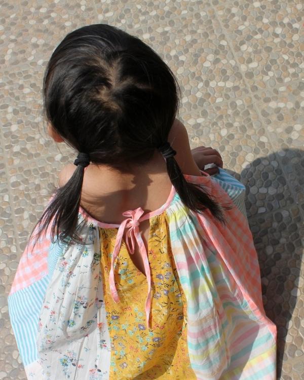 Paneled circle dress 3